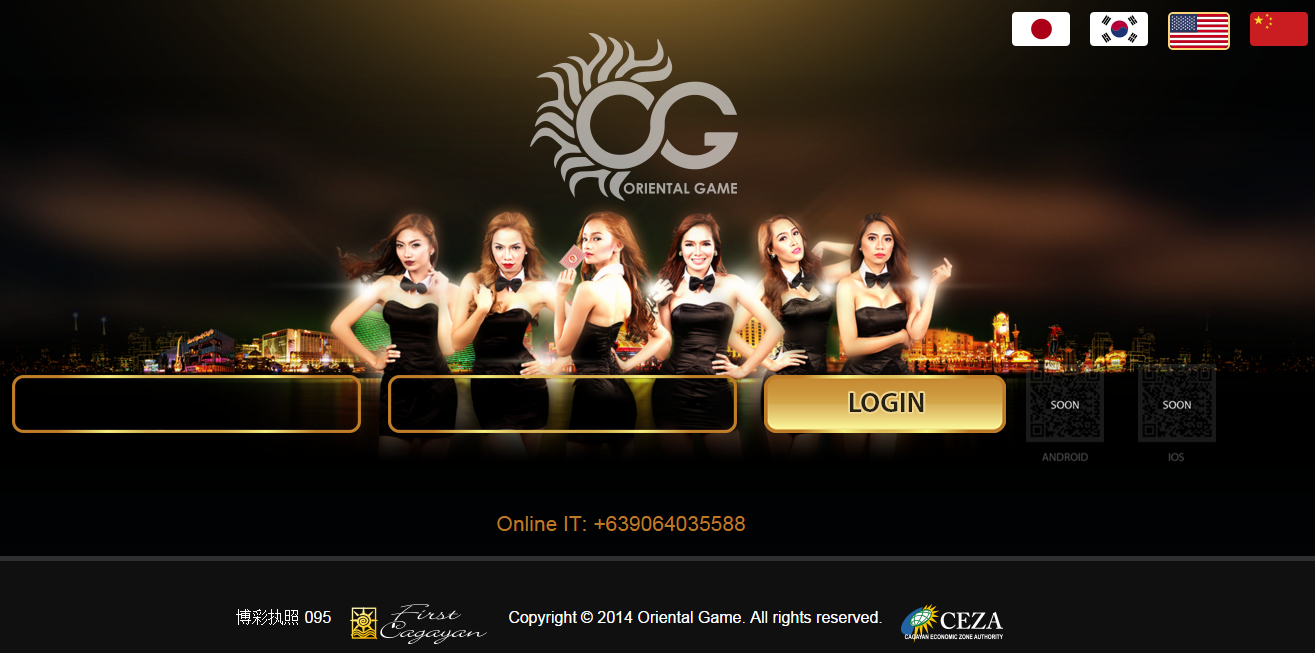 Oriental-Casino-Website